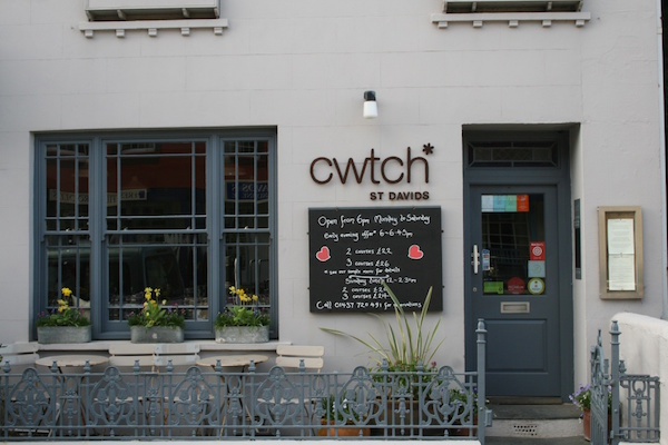 St Davids Peninsula Cottages Eating Out Cwtch