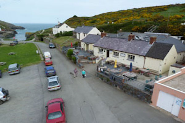 St Davids Peninsula Cottages Eating Out The Sloop Inn