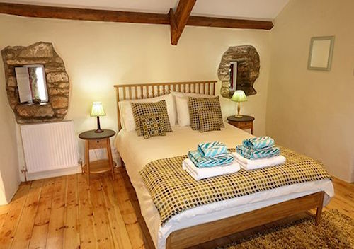 Ty Beudy Bedroom St Davies Peninsula Cottages