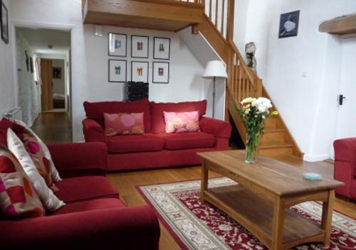 Ty Gwartheg Living Area St Davids Peninsula