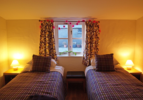 Yr Hendy Bedroom St Davids Peninsula Cottages