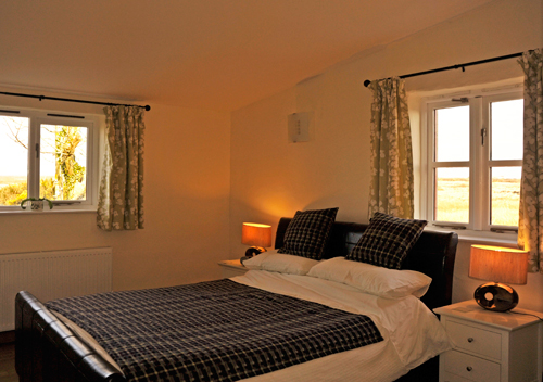 Yr Hendy Bedroom two St Davids Peninsula Cottages