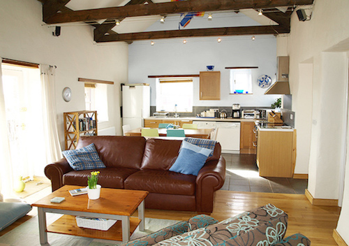 Yr Hendy Kitchen St Davids Peninsula Cottages