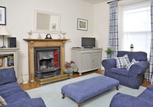 Ty Gwilym Sitting Room - St Davids Holiday Cottages Pembrokeshire Exterior