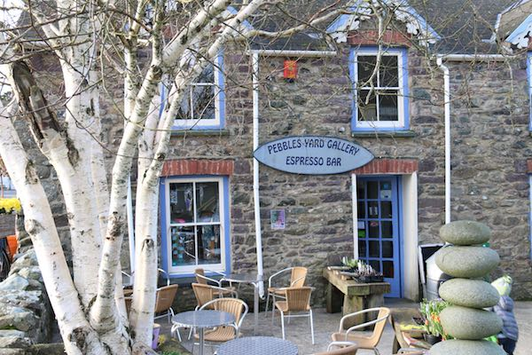 St Davids Peninsula Cottages Eating Out Pebbles Cafe