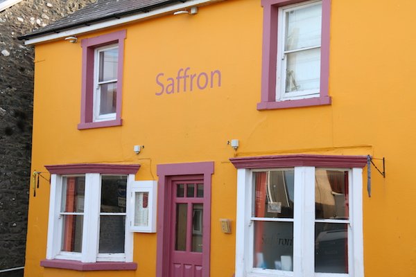 St Davids Peninsula Cottages Eating Out Saffron