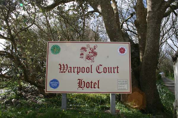 St Davids Peninsula Cottages Warpool Court Hotel