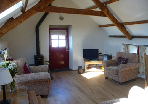 Y Felin Living Area St Davids Peninsula Cottages
